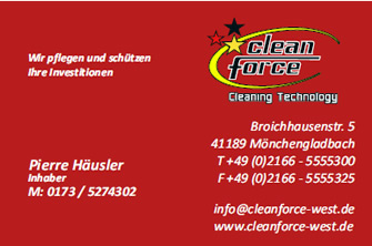 Cleanforce West - Pierre Häusler, Mönchengladbach
